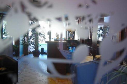 Hotel Visconti Cremona - entrata dal cortile