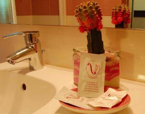 Hotel Visconti Cremona - bagno in camera