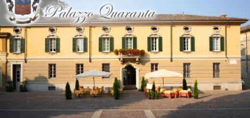 esterno Hotel Ristorante Palazzo Quaranta