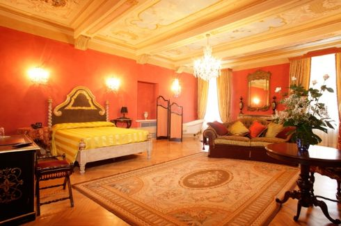 camera dell'Hotel Ristorante Palazzo Quaranta