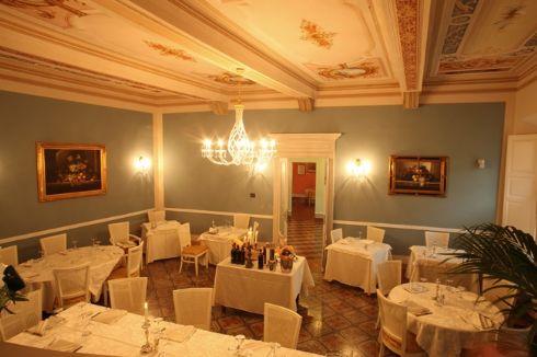 sala del Ristorante Palazzo Quaranta a Isola Dovarese