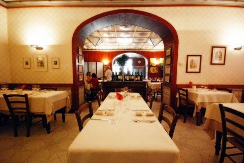 sala dell'Osteria La Sosta a Cremona