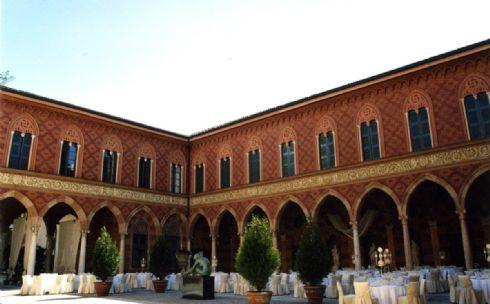 esterno di Palazzo Trecchi