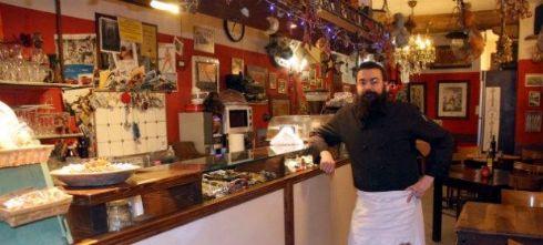 Paolo, chef e proprietario dell'Osteria Garibaldi