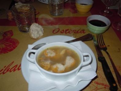 specialità dell'Osteria Garibaldi