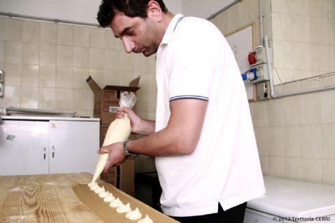 lavori in... cucina alla Trattoria Cerri