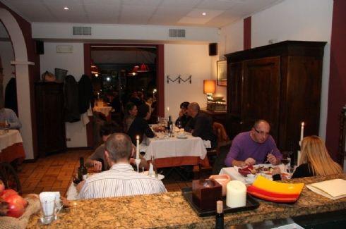 cena all'Osteria de l'Umbreleer