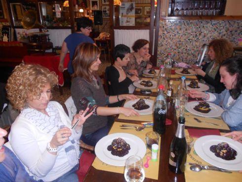 cena all'Osteria dell'Olmo