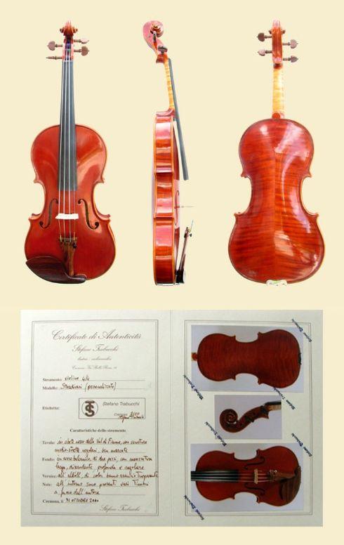 violino di Stefano Trabucchi - violin maker