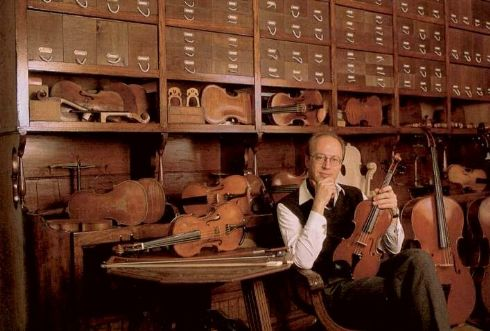 Mathijs Adriaan Heyligers nel suo laboratorio