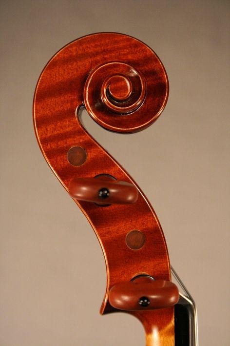 riccio del Violino Stradivari M.A. Heylingers 2013