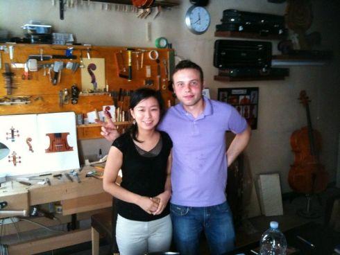 Vladimir Cubanzi con Toko