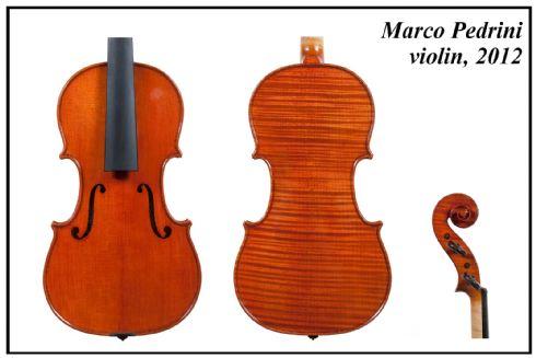 Marco Pedrini violino