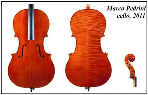 Marco Pedrini violoncello 2011