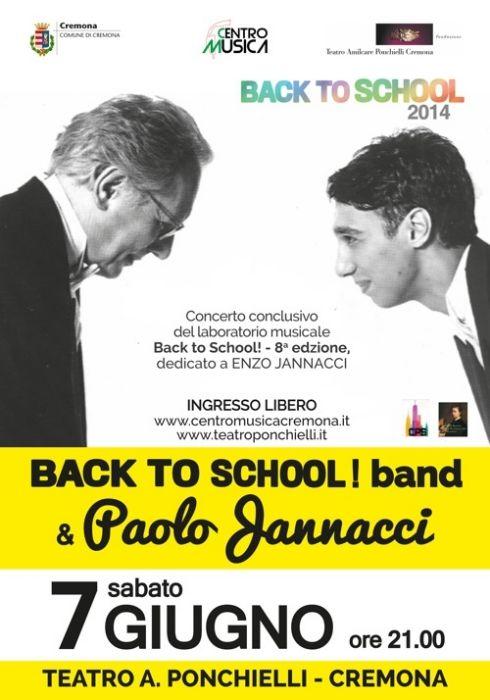 BACK TO SCHOOL 2014 - BACK TO JANNACCI!