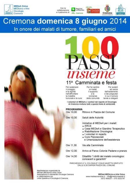 100 passi insieme a Cremona