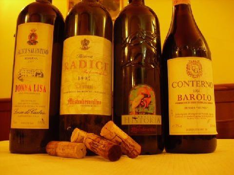 Vini della cantina Trattoria El Sorbir - Mangiare Bene a Cremona