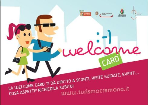 WELCOME CARD CREMONA