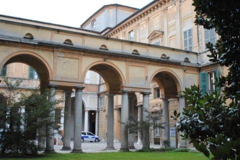 Palazzo Affaitati - cortile