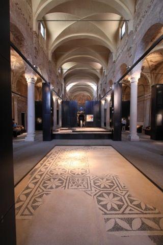 mosaico al Museo Archeologico
