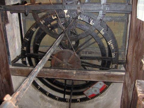 particolare di orologio astronomico del Torrazzo