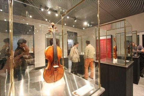 sala del violino nel Comune di Cremona