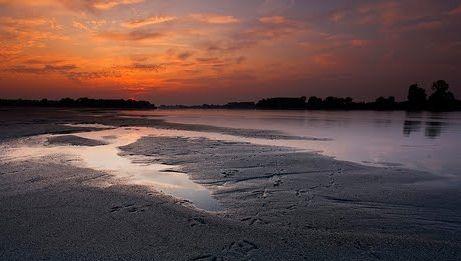 il fiume Po a Torricella del Pizzo