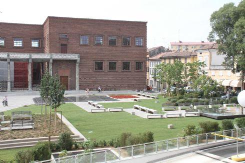 Cremona - Piazza Marconi e l'Area Archeologica