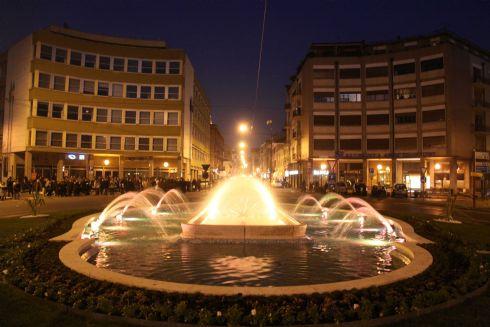 fontana di Piazza Cadorna a Cremona