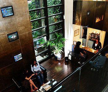 Dellearti Design Hotel a Cremona - scorcio interno
