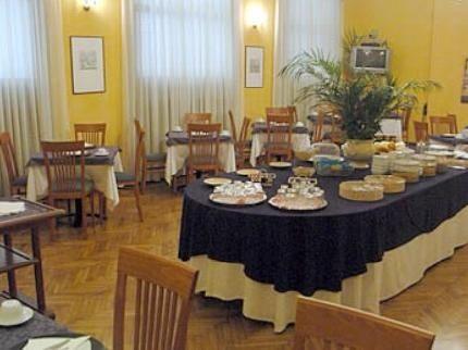 Hotel Impero **** a Cremona - la sala ristorante